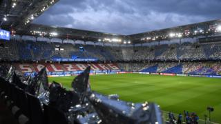 Salzburg stadium