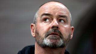 Scotland head coach Steve Clarke
