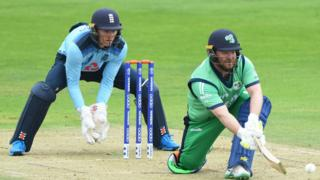 England keeper Sam Billings and Ireland vice-captain Paul Stirling