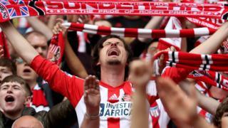 Sunderland fan