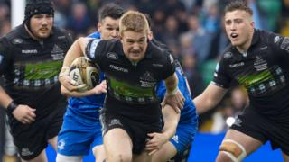 Glasgow Warriors' Kyle Steyn