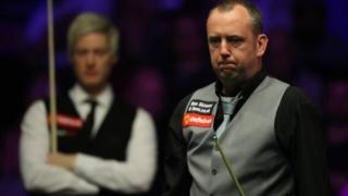 Mark Williams was beaten by Neil Robertson