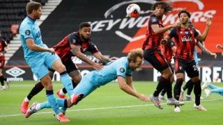 Tottenham penalty appeal