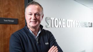 New Stoke boss Michael O'Neill