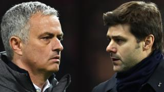 Jose Mourinho and Mauricio Pochettino