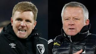 Eddie Howe and Chris Wilder