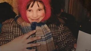 Oksana Masters as a baby