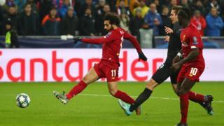 Mo Salah shoots