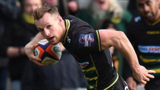 Northampton Saints' Rory Hutchinson