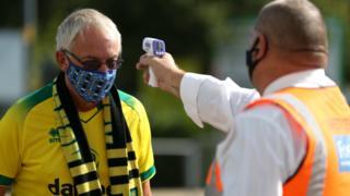 Fans return at Carrow Road