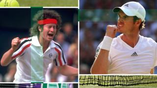 John McEnroe and Andy Murray