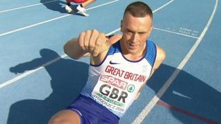 Great Britain's Richard Kilty