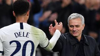 Jose Mourinho and Dele Alli
