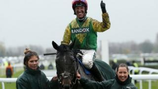 Jockey Robbie Power and Supasundae