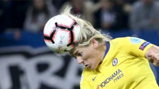 Chelsea and England player Millie Bright