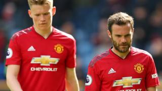 Scott McTominay and Juan Mata