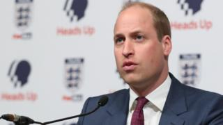 FA president the Duke of Cambridge