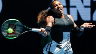 Serena Williams of the USA