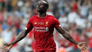 Mane scores for Liverpool