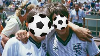 England World Cup 86