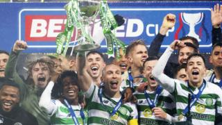Celtic win League cup