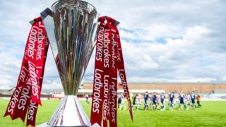 Scottish Premiership trophy