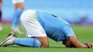 Manchester City midfielder Rodri