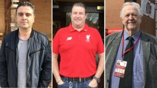 Andy Heaton, Paul Tremarco and George Sephton