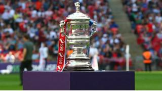 FA Women's Cup trophy