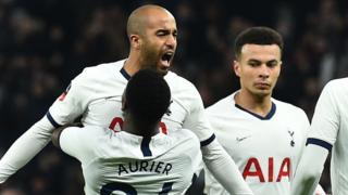 Tottenham goal