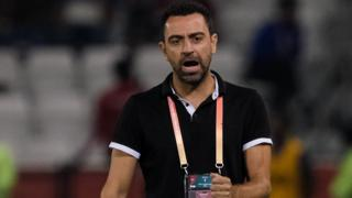 Al-Sadd Sports Club manager Xavi