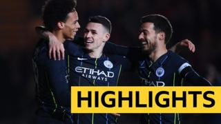 Newport County 1-4 Manchester City highlights