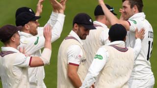 Somerset celebrate