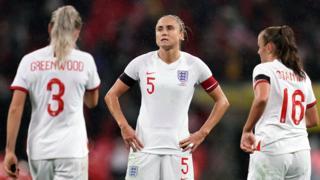 England look dejected