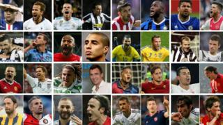 European championship of strikers