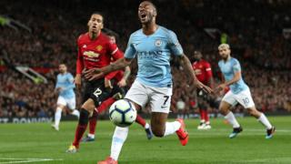 Raheem Sterling frustration
