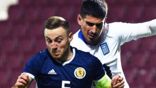 Scotland v Greece