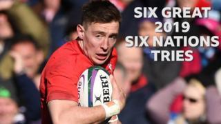 Wales winger Josh Adams