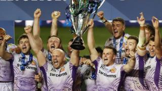 Exeter lift the Champions Cup