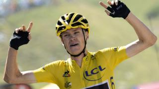Chris Froome wins the 2017 Tour de France