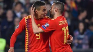 Rodrigo celebrates
