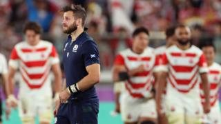 Scotland lost to Japan after the match in Yokohama had been in doubt