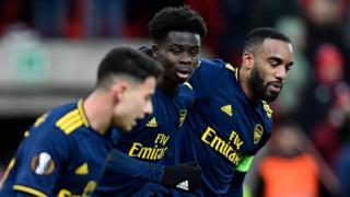 Standard Liege v Arsenal