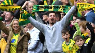 Norwich fans