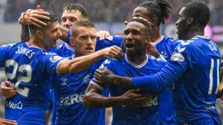 Rangers celebrations