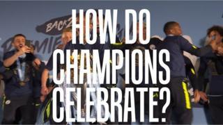 Man City champions graphic