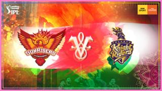 Sunrisers Hyderabad v Kolkata Knight Riders