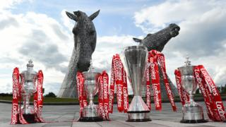 SPFL trophies