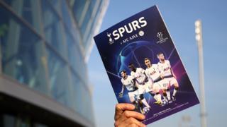 Tottenham v Ajax programme