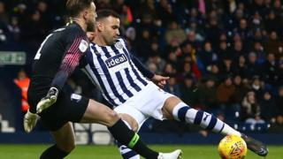 Hal Robson-Kanu scores for West Brom